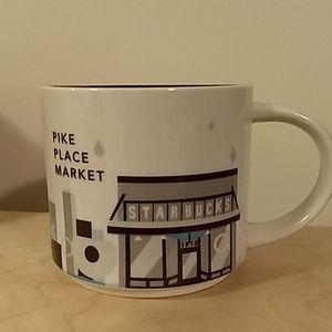 Starbucks You Are Here Pike Place Market Mug 14 oz